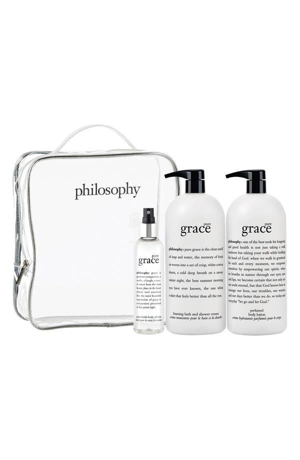 Main Image - philosophy 'pure grace' set (Nordstrom Exclusive) ($144 Value)