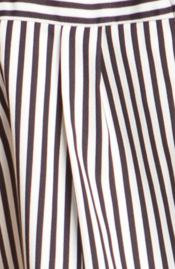 Alternate Image 4  - Lush Cutaway Stripe Top (Juniors)
