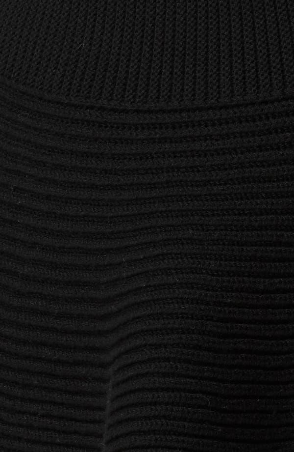 Alternate Image 3  - Alexander McQueen Rib Knit Peplum Cardigan