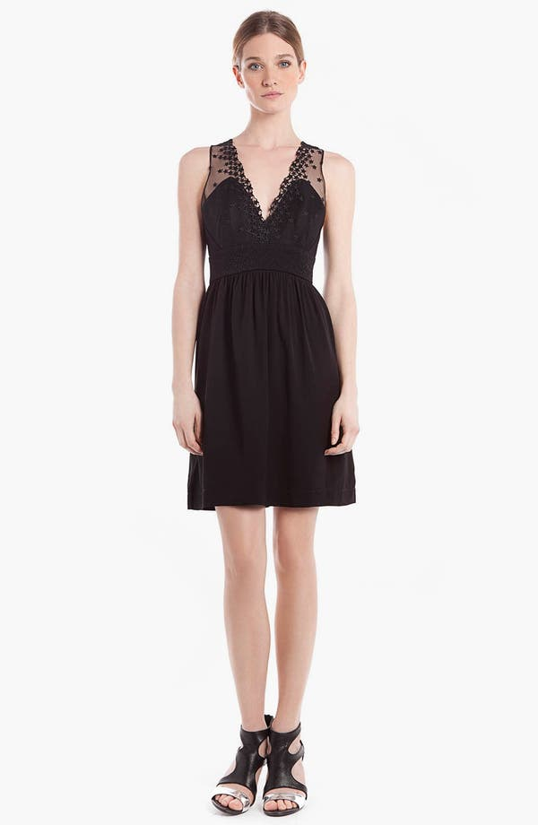 Main Image - sandro 'Rubis' Fit & Flare Dress