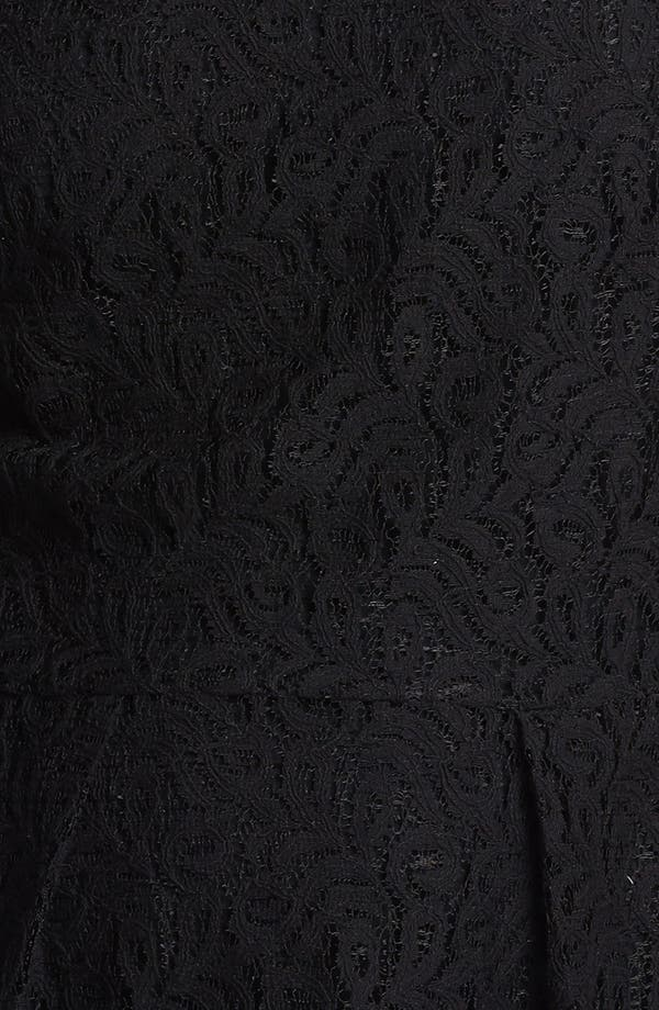 Alternate Image 3  - Hinge® Lace Peplum Top