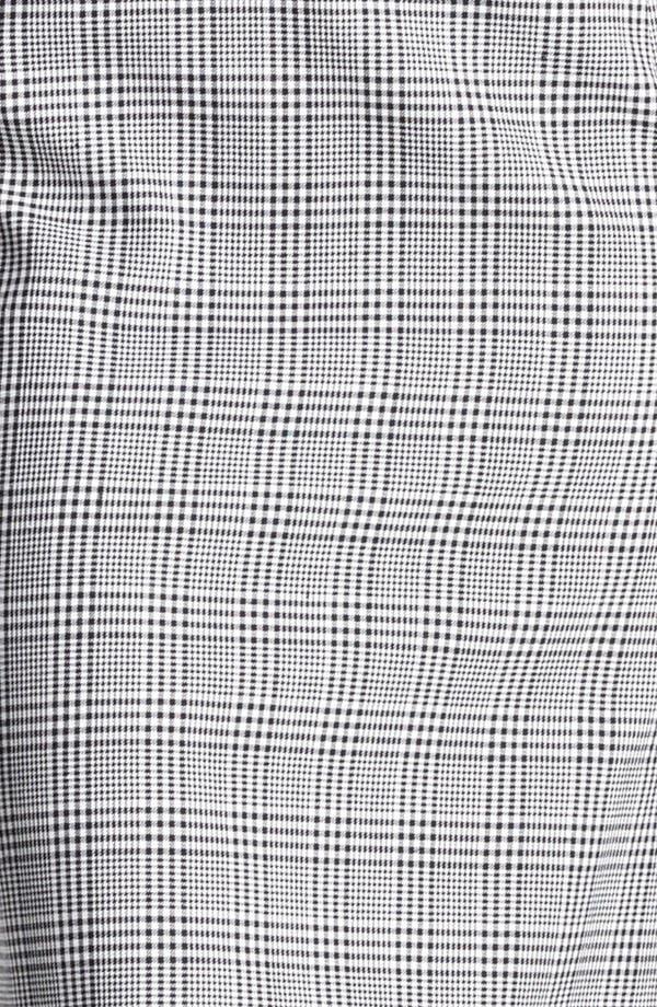 Alternate Image 3  - Oscar de la Renta Belted Glen Plaid Dress