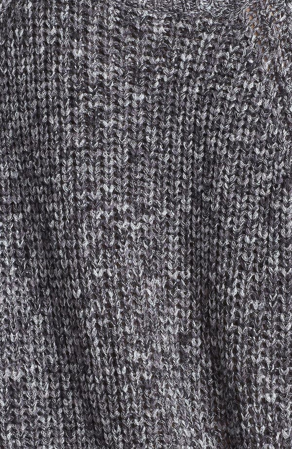 Alternate Image 3  - Rubbish® Marled Relaxed Sweater (Juniors)