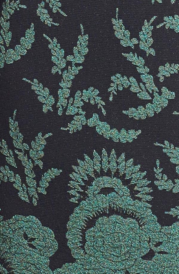 Alternate Image 3  - St. John Collection Plume Floral Brocade Dress