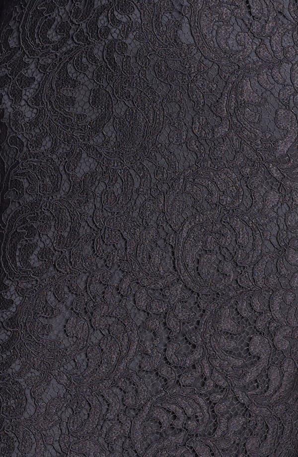 Alternate Image 3  - St. John Collection Plume Lace Dress