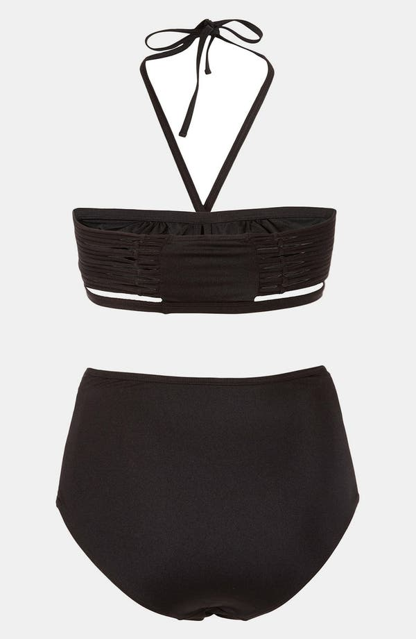 Alternate Image 2  - Topshop 'Sophis' Two Piece Bandeau Swimsuit
