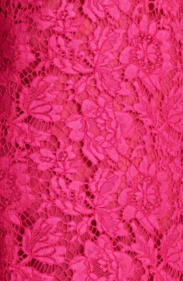 Alternate Image 3  - Valentino Ruffle Hem Lace Dress