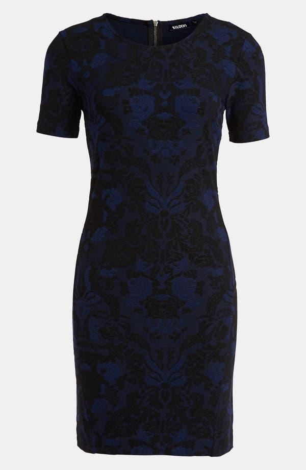Alternate Image 1 Selected - Tildon Body-Con Tapestry Dress