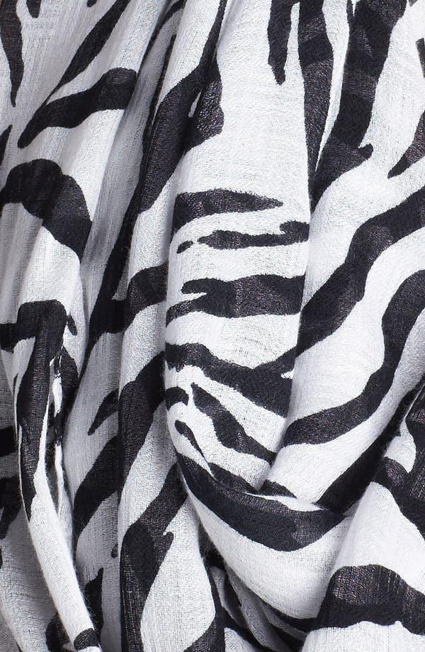 Alternate Image 2  - Nordstrom Zebra Print Infinity Scarf