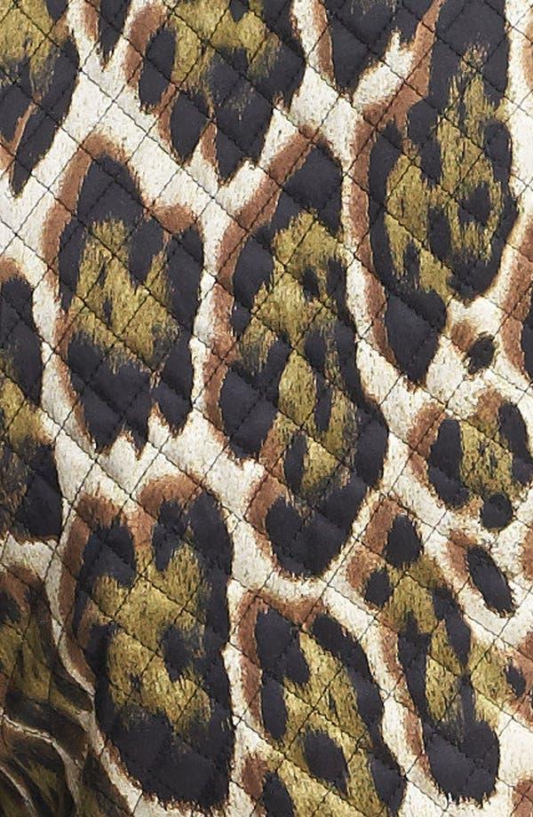 Alternate Image 4  - Just Cavalli Canvas & Leather Moto Jacket