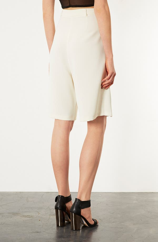 Alternate Image 2  - Topshop Tailored Culottes
