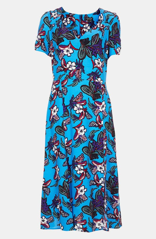Alternate Image 3  - Topshop Floral Midi Dress