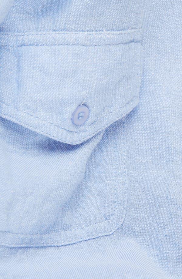 Alternate Image 3  - Topshop Chambray Shirt