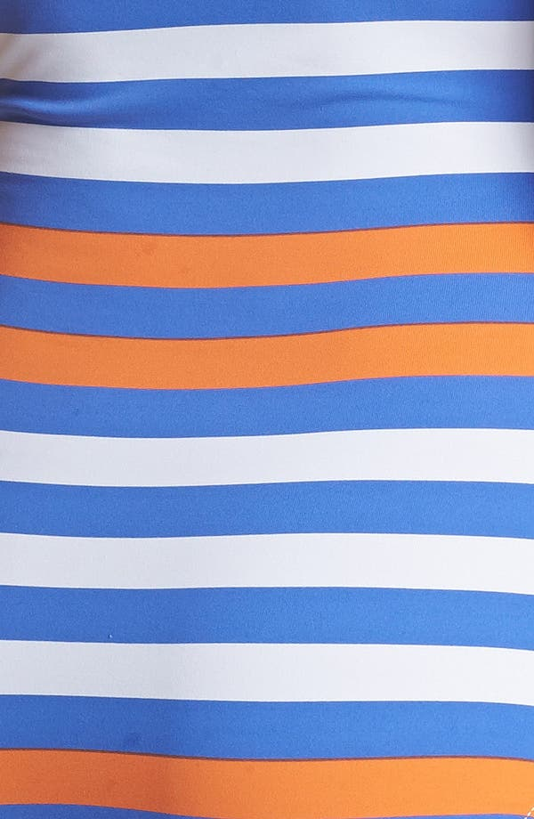 Alternate Image 3  - Tommy Bahama Stripe One Piece Bandeau Swimsuit