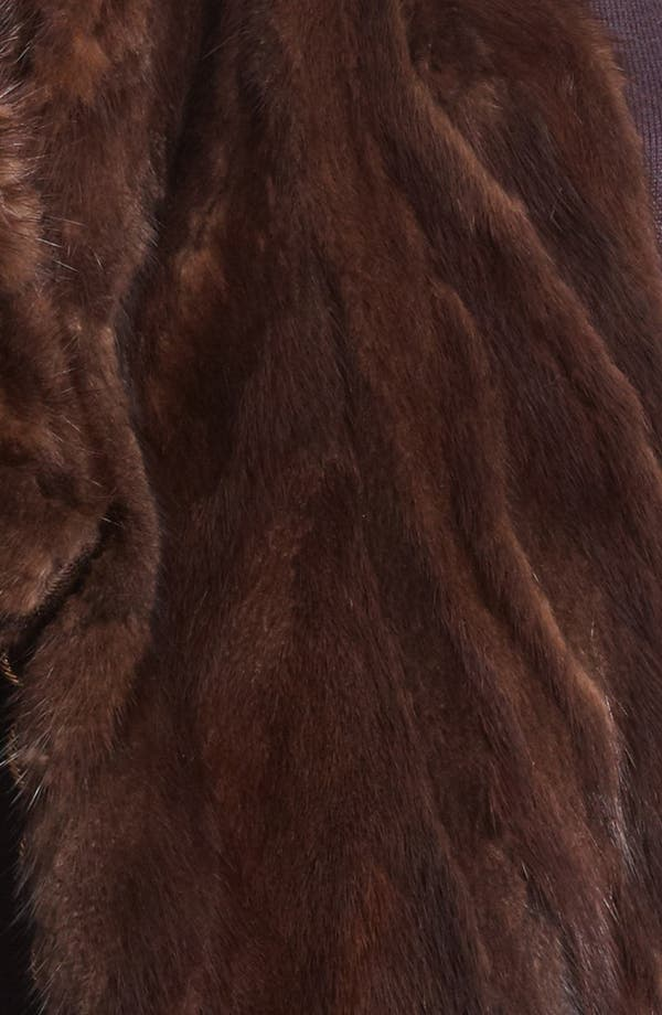 Alternate Image 2  - MARC JACOBS 'Freddie' Genuine Mink Stole