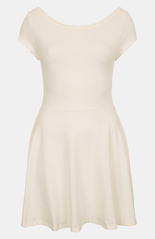 Main Image - Topshop 'Bardot' Tunic Dress (Petite)