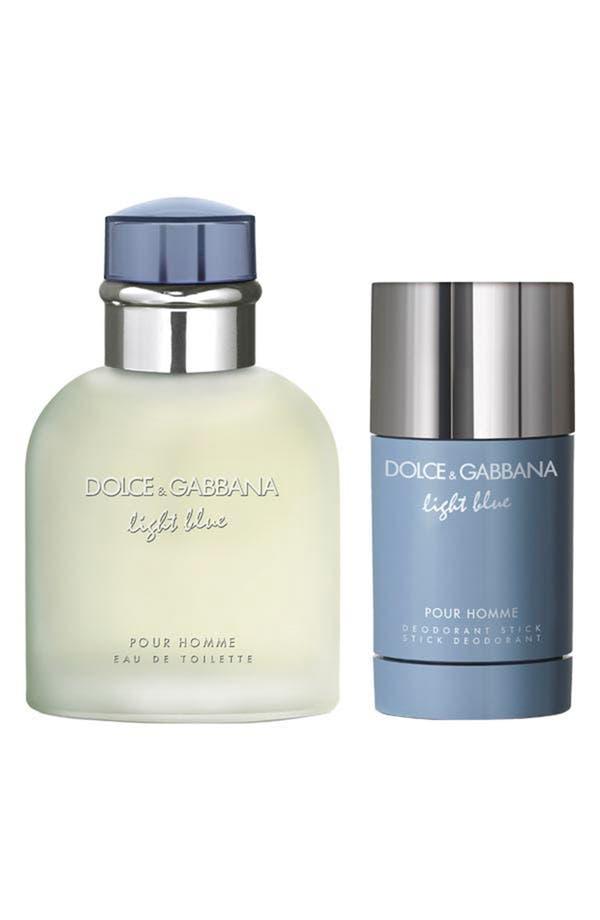 Main Image - Dolce&Gabbana Beauty 'Light Blue pour Homme' Eau de Toilette Set ($105 Value)