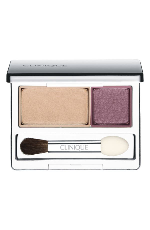 Alternate Image 1 Selected - Clinique 'All About Shadow' Eyeshadow Duo