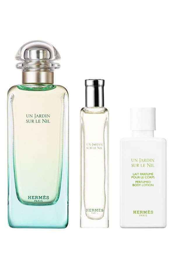 Alternate Image 1 Selected - Hermès Un Jardin sur le Nil - Eau de toilette natural spray holiday gift set