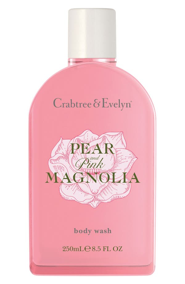 Main Image - Crabtree & Evelyn 'Pear & Pink Magnolia' Body Wash