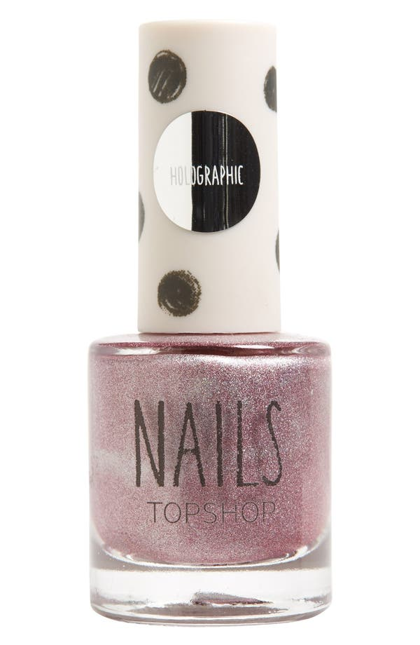 Alternate Image 1 Selected - Topshop 'Holographic' Nail Polish (2 for $14)