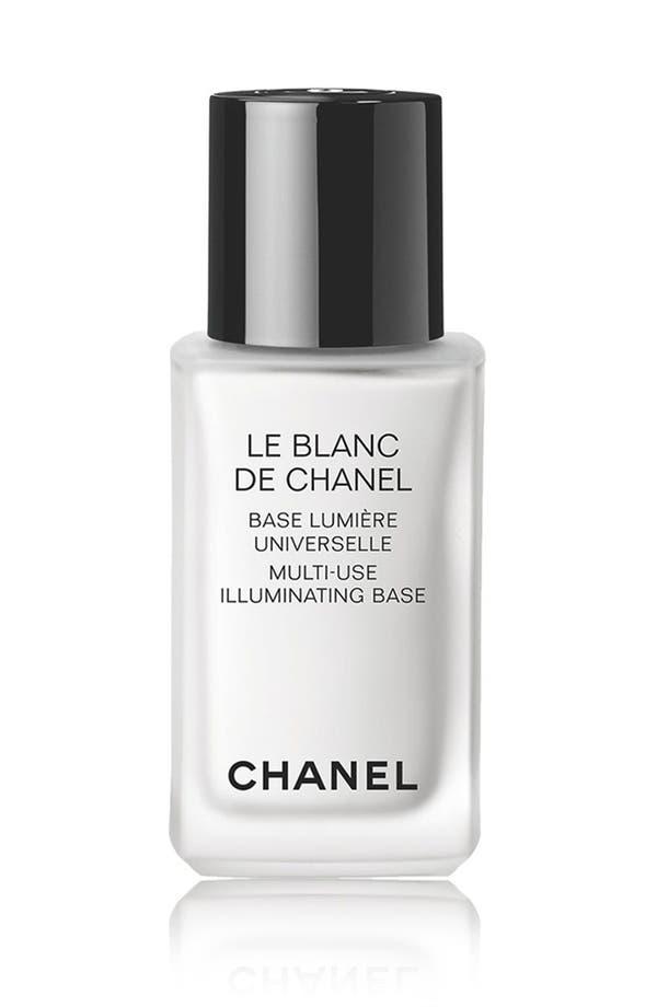 Alternate Image 1 Selected - CHANEL LE BLANC DE CHANEL  Multi-Use Illuminating Base