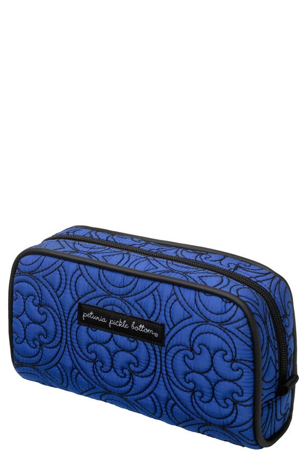 Main Image - Petunia Pickle Bottom 'Powder Room' Embossed Cosmetics Case