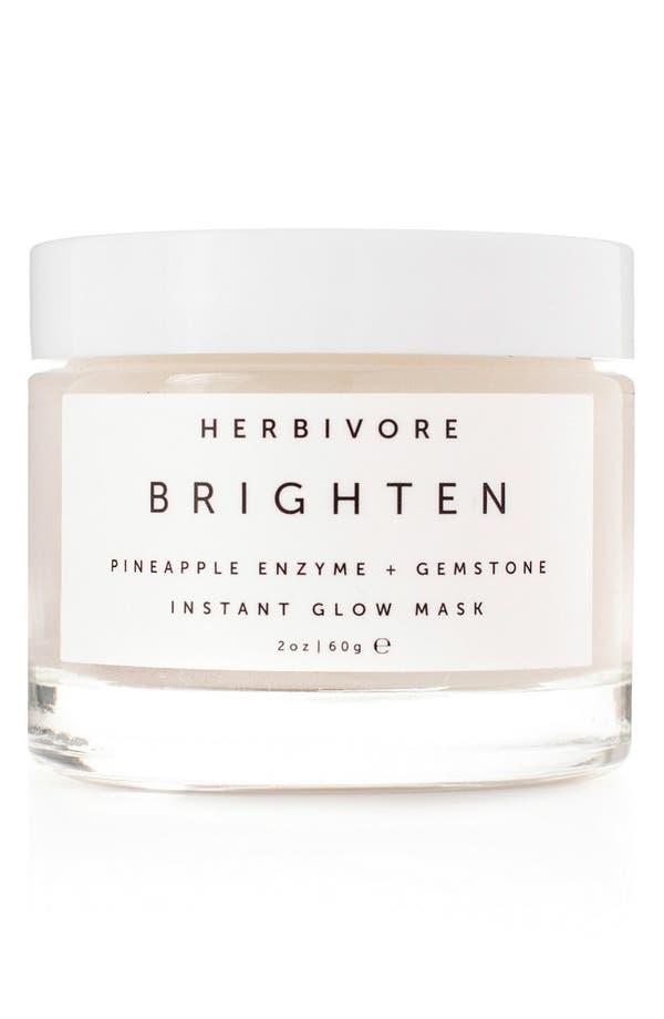 Alternate Image 1 Selected - Herbivore Botanicals Brighten Pineapple Enzyme + Gemstone Instant Glow Mask