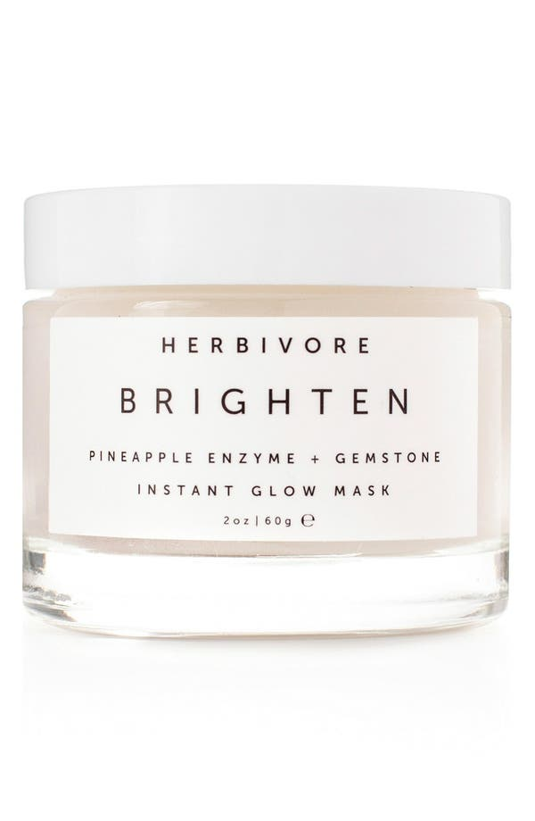 HERBIVORE BOTANICALS Brighten Pineapple Enzyme + Gemstone Instant