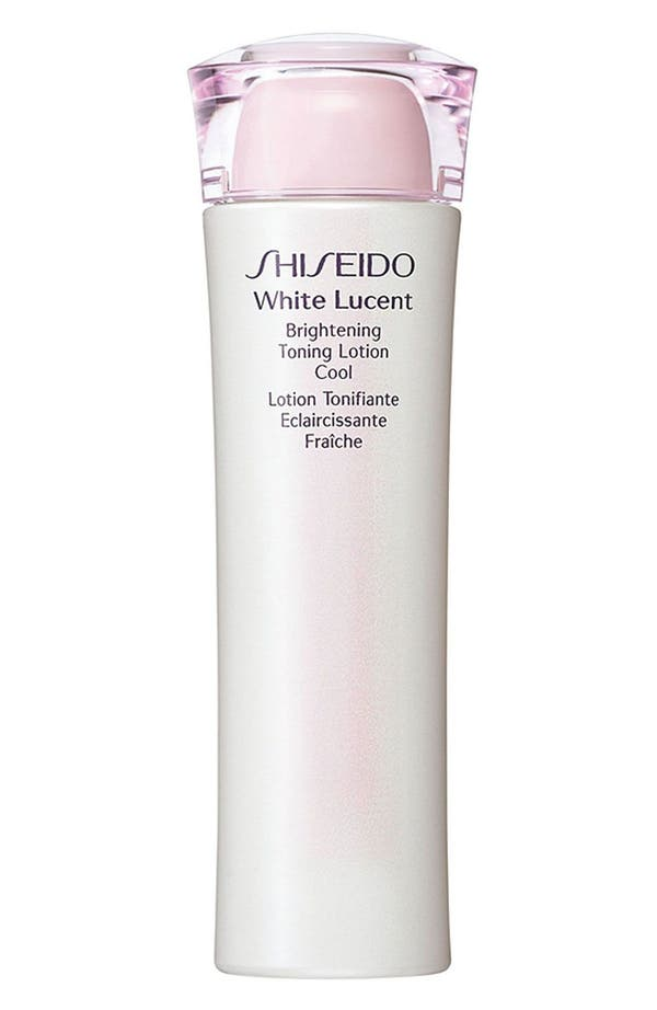 Alternate Image 1 Selected - Shiseido 'White Lucent' Brightening Toning Lotion
