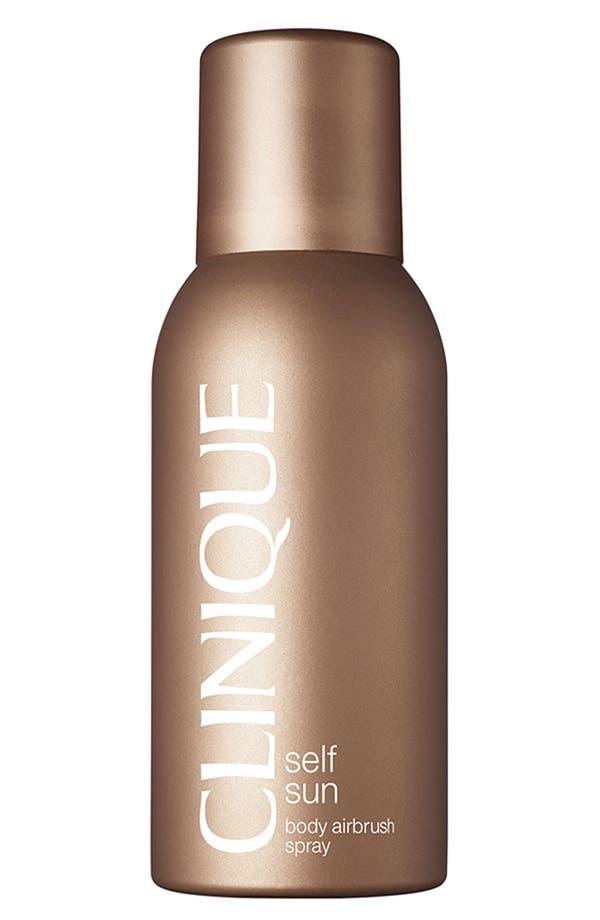 Main Image - Clinique 'Self Sun' Body Airbrush Spray