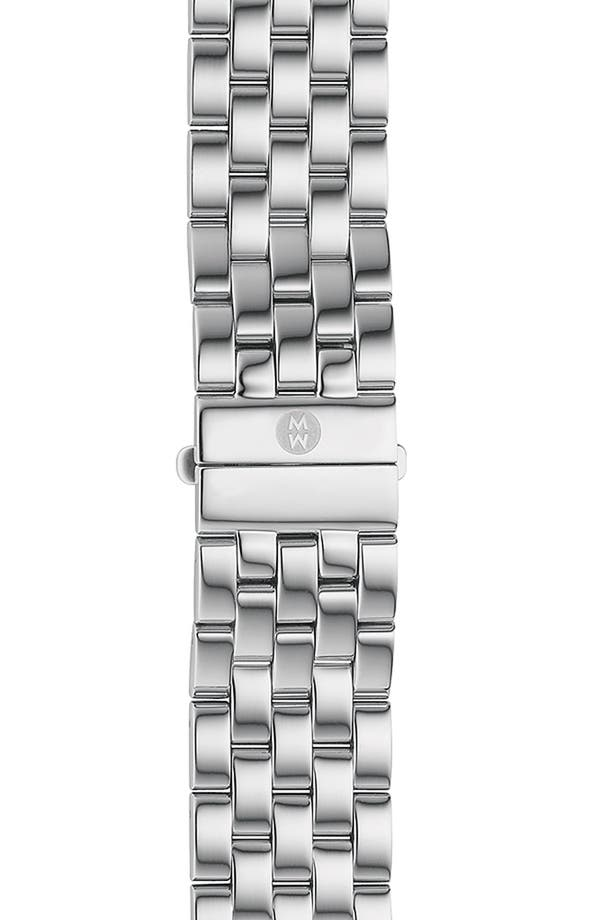 Alternate Image 1 Selected - MICHELE 'Sport Sail - Large' 20mm Bracelet Watchband
