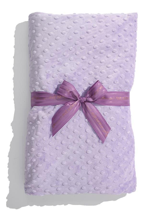 Main Image - Sonoma Lavender Dot Spa Blankie
