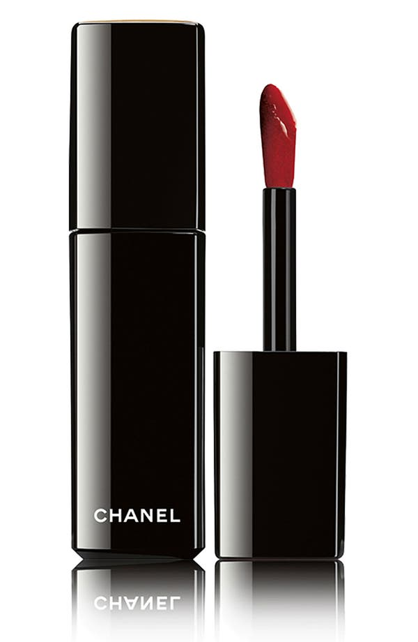 Main Image - CHANEL ROUGE ALLURE LAQUE LUMINOUS SATIN LIP LACQUER
