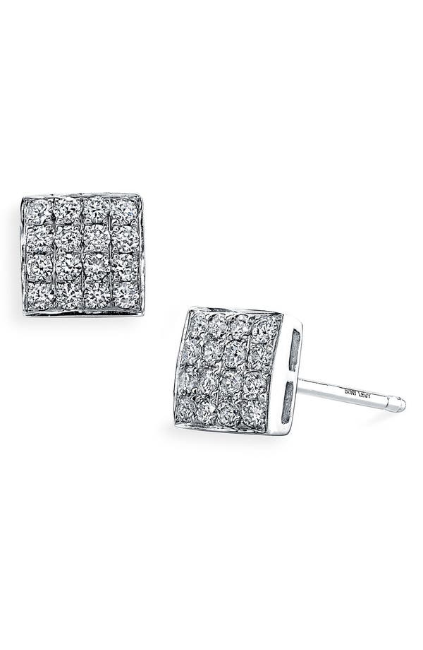Alternate Image 1 Selected - Bony Levy Diamond Dome Earrings (Nordstrom Exclusive)