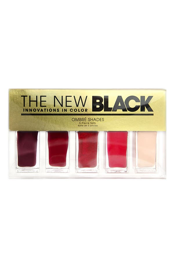 Alternate Image 2  - THE NEW BLACK 'Rover - Ombré' Nail Polish 5-Piece Set