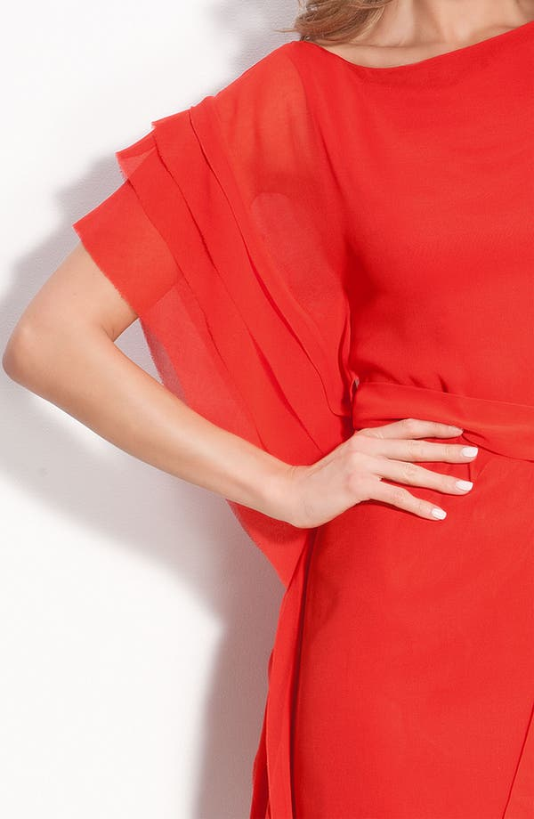 Alternate Image 3  - Vince Camuto Asymmetrical Layered Dress with Sash Tie