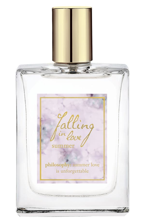 Alternate Image 1 Selected - philosophy 'falling in love summer' spray fragrance