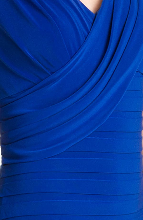 Alternate Image 3  - Adrianna Papell Banded Surplice Jersey Dress