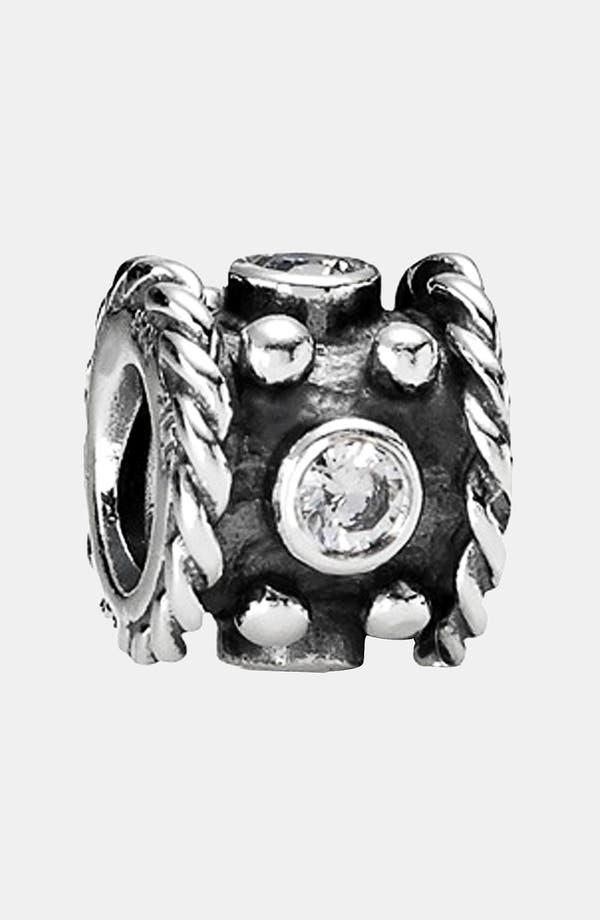 Main Image - PANDORA Oxidized Crown Charm