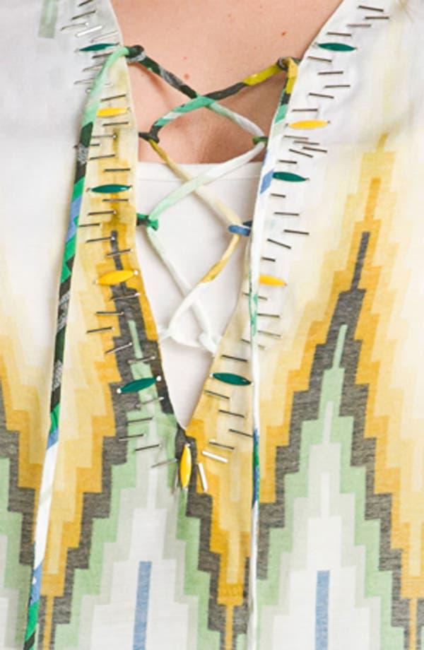 Alternate Image 3  - Alberto Makali Lace-Up Tunic (Plus)