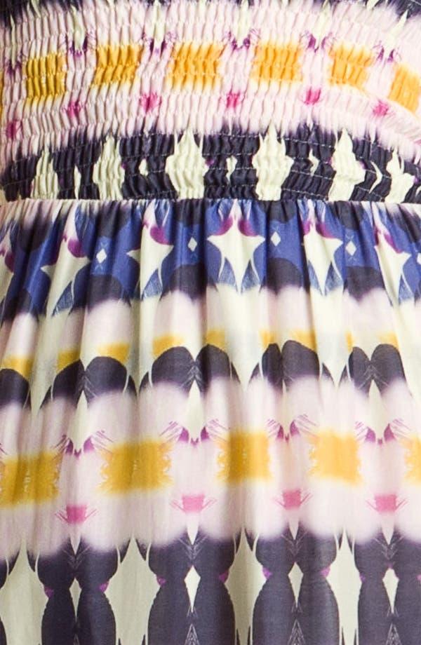 Alternate Image 3  - Presley Skye Smocked Bodice Print Maxi Dress