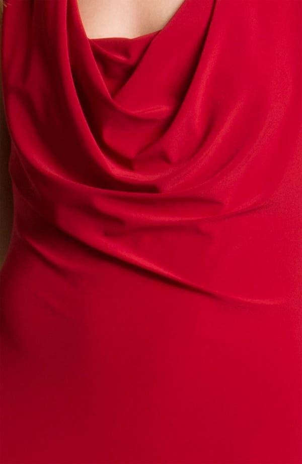Alternate Image 3  - A.B.S. by Allen Schwartz Cowl Neck Jersey Gown