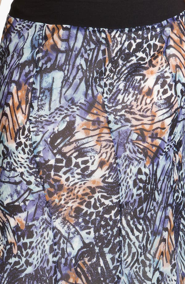 Alternate Image 3  - Nic + Zoe 'Pattern Play' Long Skirt (Plus)