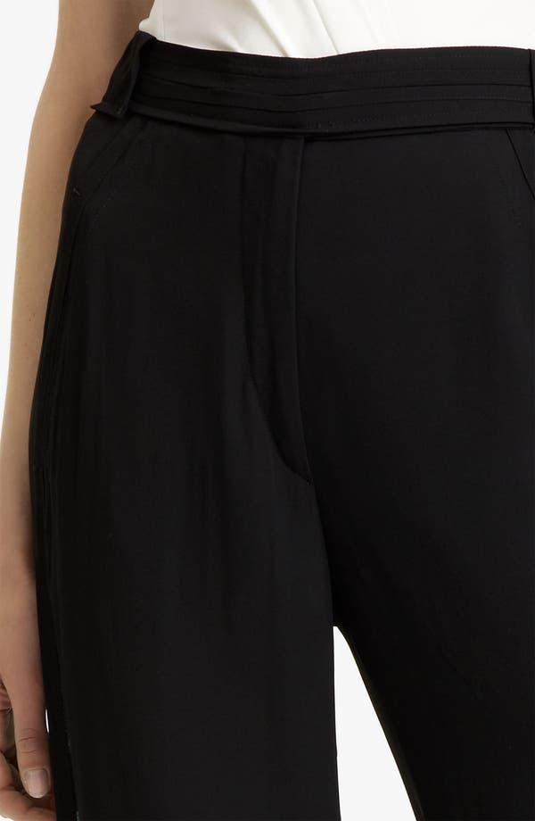 Alternate Image 2  - Donna Karan Collection Wide Leg Trousers