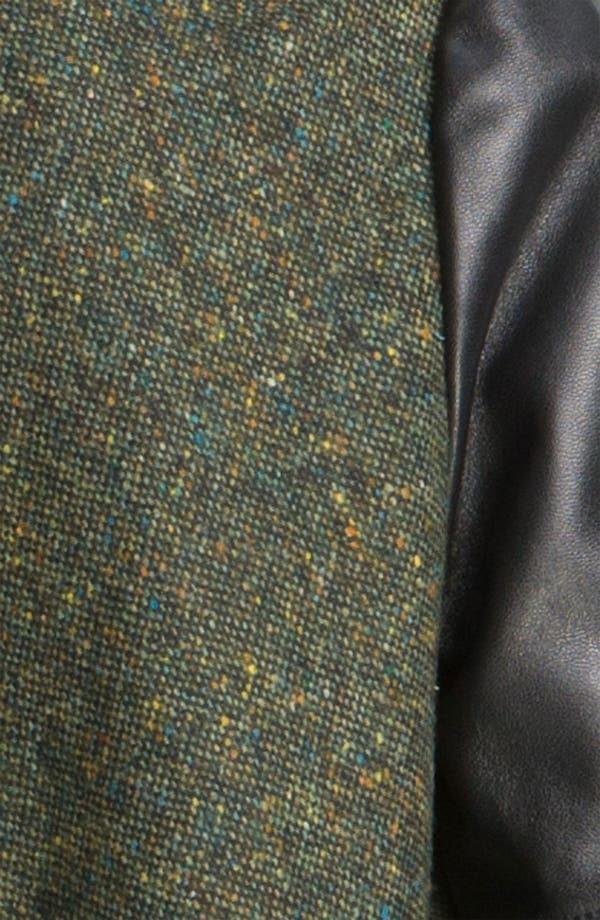 Alternate Image 3  - Derek Lam 10 Crosby Leather Sleeve Jacket