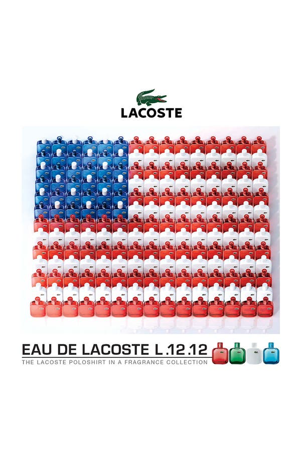 Alternate Image 2  - Lacoste 'White' Eau de Toilette