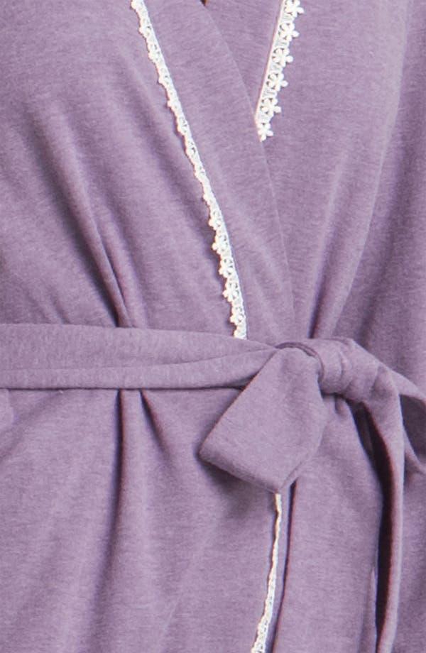 Alternate Image 3  - Eileen West 'Flowers' Robe