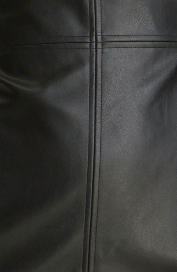 Alternate Image 3  - Sanctuary Faux Leather Shift Dress