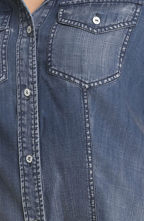 Alternate Image 3  - Trouvé Faded Denim Shirt
